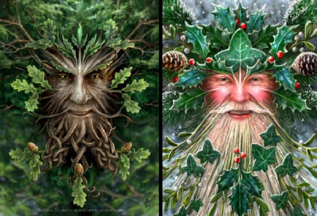 The Oak King and the Holly King