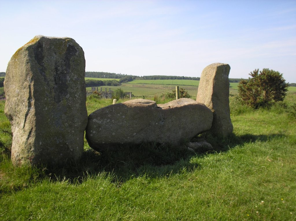 Recumbent and Flanker Stones of Strichen Stone Circle