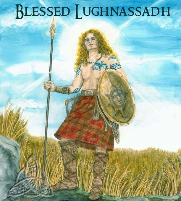 Lugh, God of Justice and Skills, a Judge and a Warrior