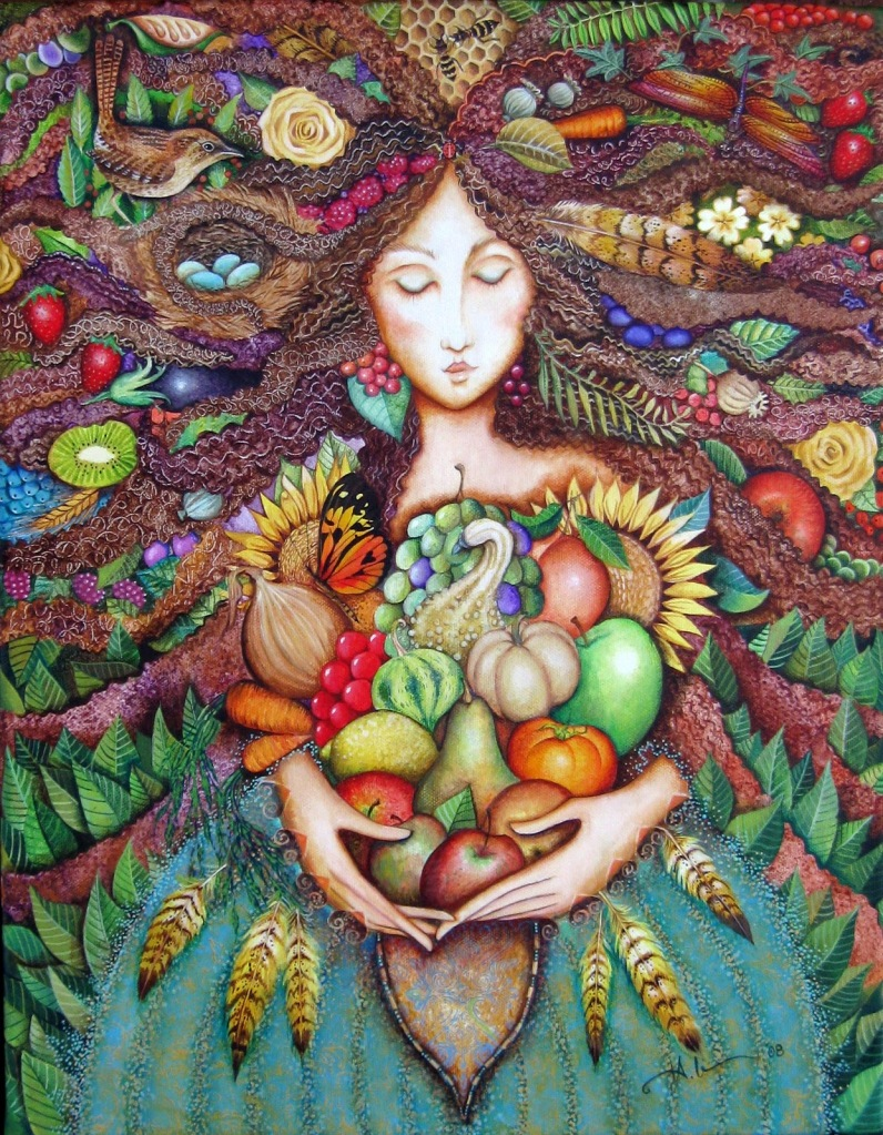 The Goddess and her Bountiful Gifts